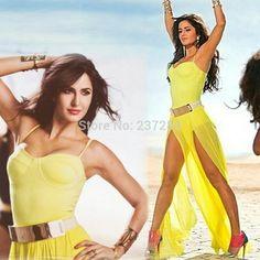 Katrina kaif in Awsome yellow dress💕💕😍😍 Katrina Kaif Body, Katrina Kaif Bikini, Katrina Kaif Hot Pics, Katrina Kaif Photo, Bollywood Bikini, Bollywood Girls, Bollywood Fashion, Bollywood Actress Hot Photos, Beautiful Bollywood Actress