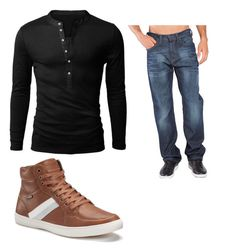 """ahh"" by darrick-howard-ii on Polyvore featuring Point Zero, men's fashion and menswear"