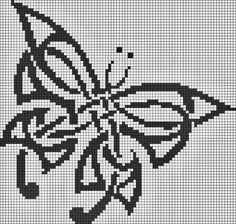 Butterfly --- perler beads