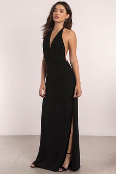 Show some skin with the Glow Low Back Maxi Dress. Featuring a T-back strap and exposed back. pair with heels and statement earrings. - Fast & Free Shipping For All Orders!