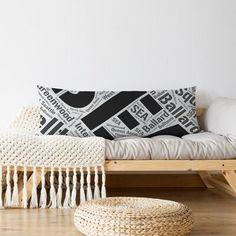 East Urban Home Michigan District Word Art Lumbar Pillow Colour: Black, City: Memphis Lumbar Pillow, Throw Pillows, Oversized Pillows, Body Pillow Covers, Word Art, Memphis, Seattle, Michigan, Miami