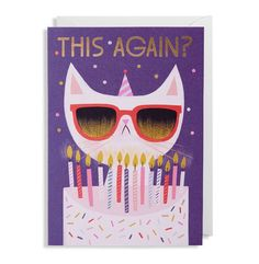Illustrated Greeting Cards By Allison Black For Lagom Paper Crave Cat Greeting Cards Birthday Greeting Cards Original Greeting Card