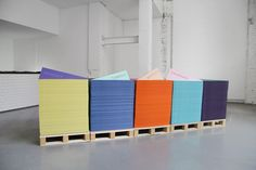 origami exhibition design
