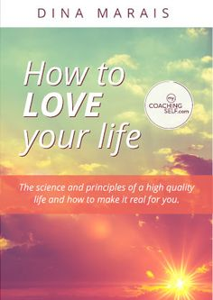 What does it mean to love your life? For me it means to feel good, wake up and go to … Online Self, Love Your Life, News Online, Self Development, Feel Good, Coaching, Science, Feelings, Feeling Great Quotes