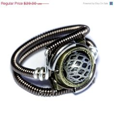 ON SALE TODAY Steampunk Jewelry Ring by CatherinetteRings