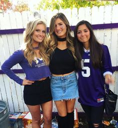 College outfits, football outfits и college games. College Games, College Game Days, College Fun, College Life, College Football, College Parties, Cold Weather Outfits, Casual Winter Outfits, Summer Outfits