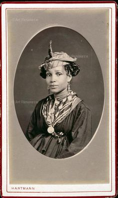 Vintage Culture --- Woman from St Pierre, Martinique,1870