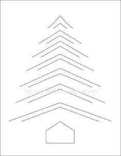 Incire is pretty straightforward: cut along black lines, fold down the V shaped cut pieces.