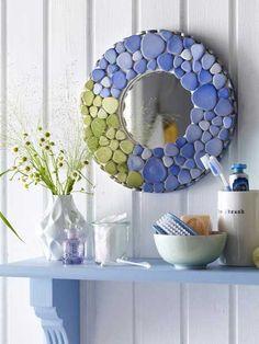 DIY-Ideen 201323 mosaic mirror
