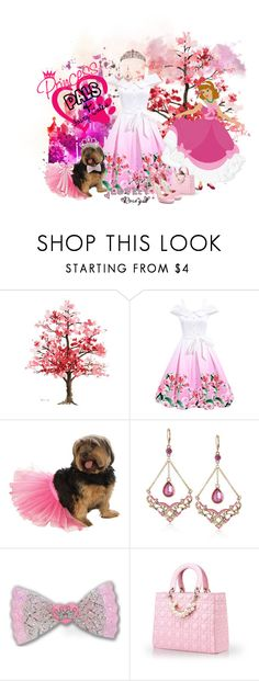 """Princess Pals & Fairy Tales"" by jennziegirl ❤ liked on Polyvore featuring Disney, Betsey Johnson and Miu Miu"
