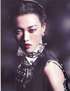 Tian Yi in 'The Art of Opulence' for Vogue China, January 2013 by David Slijper