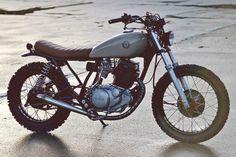 Yamaha SR250 by Auto Fabrica. Via BikeEXIF.