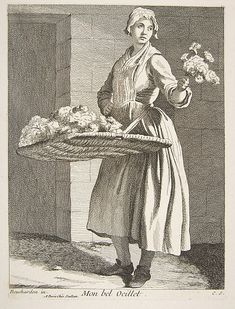 Anne Claude Philippe de Tubières, comte de Caylus | Flower Vendor | The Met