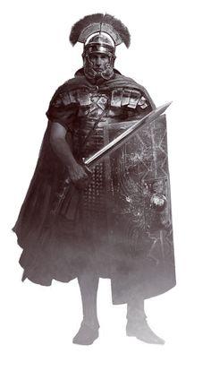 Roman centurion by Manzanedo