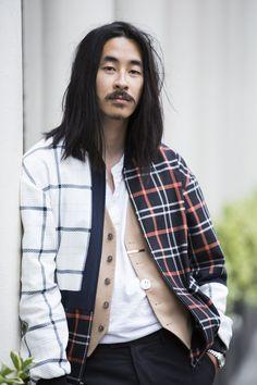 Street looks from Menswear Fashion Week Spring/Summer 2016 London | Vogue Paris