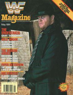 WWF Magazine circa: May 1991
