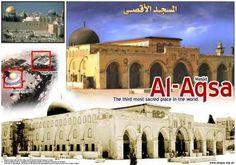 Mezquita de Al-Aqsa. Junto a la Cúpula de la Roca de Jerusalén. Omeya. Principios s.VIII