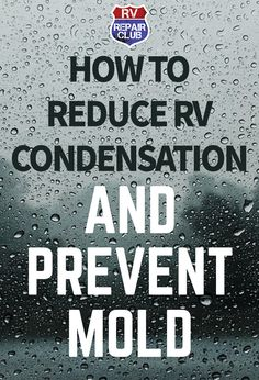 There are many different moisture sources inside your RV that you can control, which will help reduce the formation of RV condensation. For example, heating up food releases water vapors into the air and increases humidity levels. When cooking, make sure Camper Life, Rv Campers, Rv Life, Camper Van, Happy Campers, Diy Camper, Teardrop Campers, Camper Caravan, Teardrop Trailer