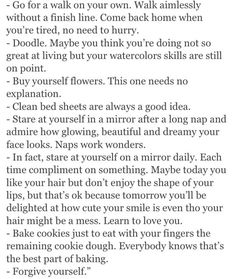 Personally, I don't think eating the remaining cookie dough is the best part of baking, the end result is! Pretty Words, Beautiful Words, Beautiful Life, Note To Self, Self Love, Quotes To Live By, Me Quotes, Qoutes, Just In Case
