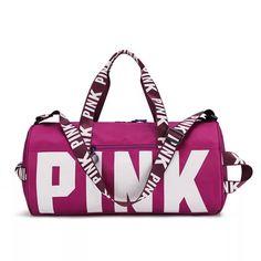 Duffel Bags, Pink Duffle Bag, Canvas Duffle Bag, Baskets, Le Tennis, Pink Handbags, Purple Bags, Cute Bags, Victoria's Secret Pink