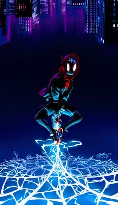 Miles Morales - Ultimate Spider-Man, Into the Spider-Verse Spiderman Kunst, Black Spiderman, Spiderman Spider, Amazing Spiderman, Marvel Comics Art, Marvel Comic Universe, Bd Comics, Marvel Heroes, Marvel Avengers