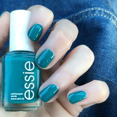 Essie Spring Collection 2018 'Stripes & Sails' Love this gorgeous Essie teal polish!!!