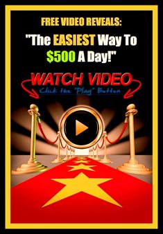 Free video reveals: The easiest way to $500 a day!   #swedishcashcrew.com #makemoneyonline #onlineentrepreneur #pinterest