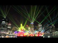 Art of laser light - Brisbane Australia