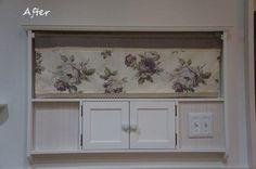 4 steps of DIY instruction how to hide an intercom & thermostat by a french & antique style - shabby chic furniture.『DIYでシャビーシックなインテリア&ガーデニング』インターホンカバー DIY 手作り 作り方