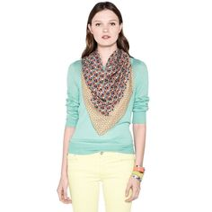 FOSSIL® Clothing Hats & Scarves:Women Cindy Signature Scarf LWS1179