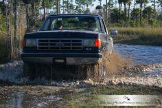 "Ford Bronco ""Mudding"""