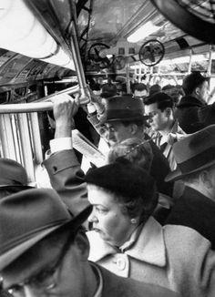 New York City Subway 1952 | Underground Scene: New York's Subway Back in the Day | LIFE.com