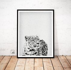 Leopard Print Art Leopard Photo Print Instant by FroileinJuno