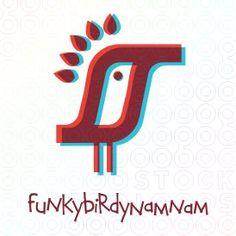 FunkyBirdyNamNam Bird logo
