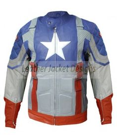 Captain America The First Avenger Chris Evans Leather Jacket