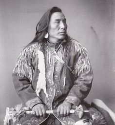 Sixapo (aka Black Plume, aka Long Mane) - Blackfoot (Kainai) - 1895
