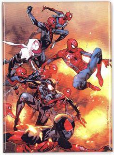 The Amazing Spider Man 13 Spider Verse Part 5 Printing Marvel Spider Gwen Marvel Comics, Marvel Vs, Marvel Heroes, Captain Marvel, Amazing Spiderman, Spiderman Kunst, Spiderman Marvel, Silk Spiderman, Spiderman Anime