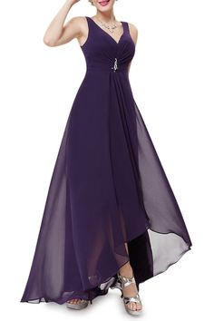 A Line High Waist Evening Dress. Evening Dresses ... d227ce245277
