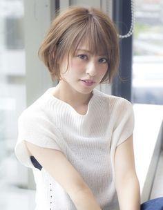 大人かっこいい外ハネボブEN-38   ヘアカタログ・髪型・ヘアスタイル AFLOAT(アフロート)表参道・銀座・名古屋の美容室・美容院