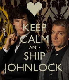 keep calm and ship johnlock - Google Search