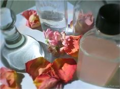 mam for gave that rose toner in antique glass bottles gift