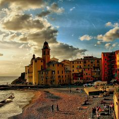 Camogli, Liguria, Italy  http://www.flickr.com/photos/klausthebest/2971656124/in/faves-jup3nep/