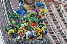 Cochin ceramics on Taiwan temples | 4668 保安宮 cochin ceramic the temple art of taiwan in baoan temple ...