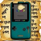 Gameboy Teal Color HTC One X Case Full Wrap #HTCOne #HTCOneX #PhoneCase #HTCOneCase #HTCOneXCase