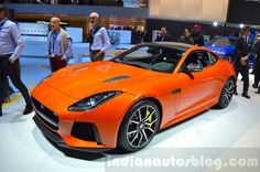 The Jaguar F-Type SVR is the first series production model from Jaguar to be developed by Jaguar Land Rover's Special Vehicle Operations division. Jaguar Land Rover, Jaguar F Type, Geneva Motor Show, Exotic Cars, Vehicles, Model, Live, Sports, Cars