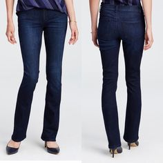Ann Taylor Modern Boot Jeans These jeans are the perfect classy, dressy jean. The dark denim goes with everything. Please feel free to ask questions or make offers! Happy to give bundle discounts - check out my other listings! ☺️ Ann Taylor Jeans Boot Cut