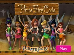"""Pirate Fairy Code Brought to you by BlogHer and Disney's """"The Pirate Fairy"""", an All-New Tinker Bell Movie on Blu-ray and Digital HD Apr 1"""