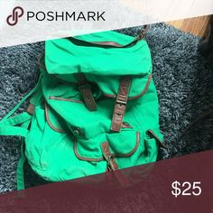 Urban Outfitters Green Backpack Great Condition • No Trades Urban Outfitters Bags Backpacks