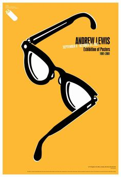 """<p style=""""font-size:10px"""">Credit: </p>Title: Andrew Lewis Exhibition of Posters Client: Colorado International Invitational Poster Exhibition Size: 18"""" x 26"""" (45.72 x 66.04 cm) Printing Process: Offset Inks: 2 color Are posters what you primarily do for this client? Yes PROCESS Comps Presented: 32 Revisions: 1 Approval: Andrew Lewis Design Involvement with final printing: Prepared for production and press inspected For the Colorado International Invitational Poster Exhibition, Lewis was…"""