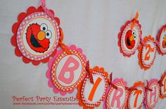 Birthday Banner Elmo By Partiesbyadriana On Etsy Banners